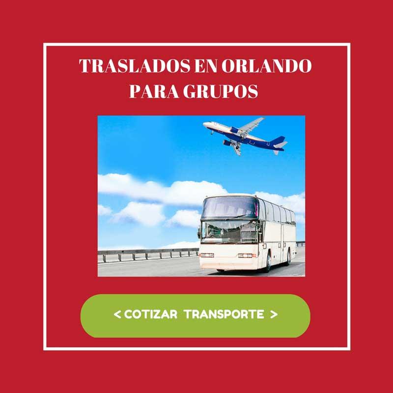 TRANSPORTE EN ORLANDO PARA GRUPOS