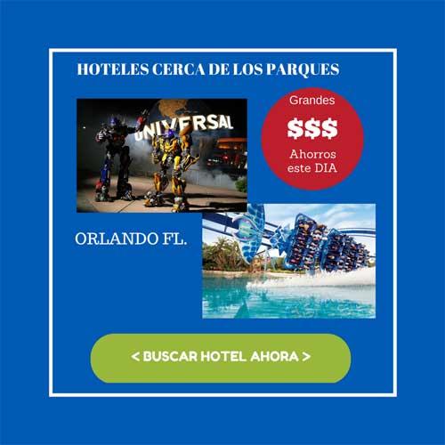 OFERTA HOTELES EN ORLANDO CERCA DE LOS PARQUES